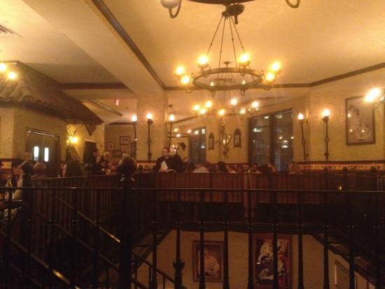 La Tasca: the top level dining area