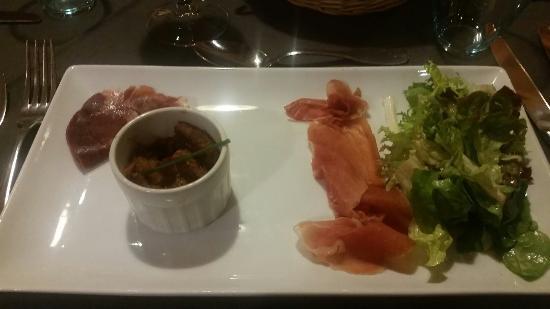 Restaurant Hotel Le Morillon : Soupe chatree. .. Miaaaam