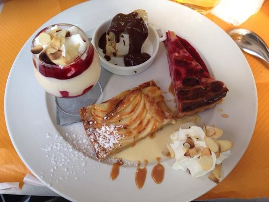 Le Kafe-In: cafe tres gourmand...une merveille