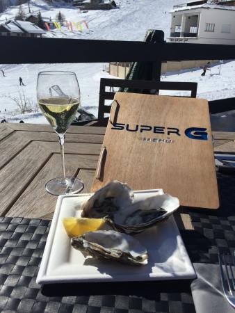 Super G Restaurant: Top class ad alta quota