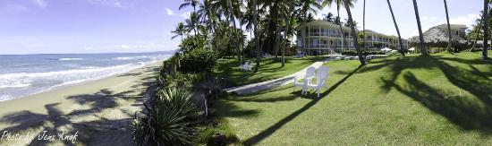 Cabarete East Beachfront Resort: Plenty of space to relax