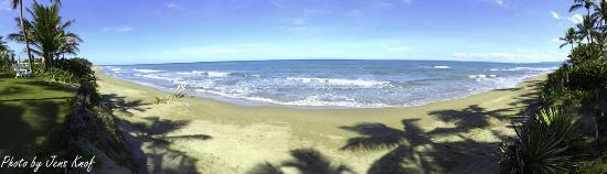 Cabarete East Beachfront Resort: Sand and Beach in front of Resort