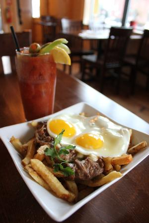 Little Tap House: What's for Brunch? Poutine & Eggs!