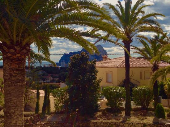 Gran Sol Calpe : View from the restaurant