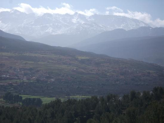 Sahara Revelation: scenic view from the Atlas Mountains