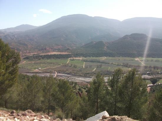 Sahara Revelation: cenic view from the Atlas Mountains