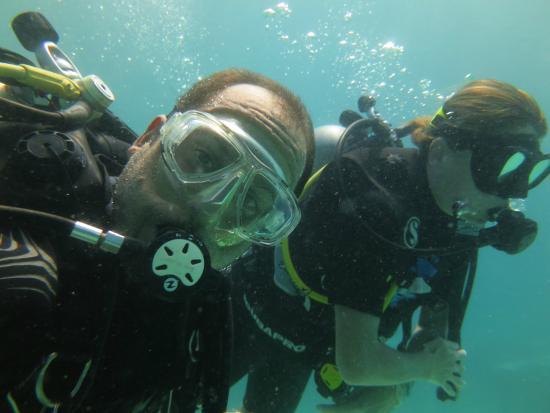 Infinity Ocean Diving - Private Diving : Val et Julien
