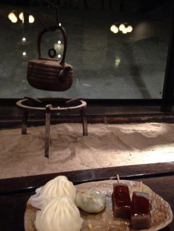 Oyado Konoha: 粋なサービス、さすが群馬。こんにゃくが美味しい。味噌も風味がありとても美味しかった。