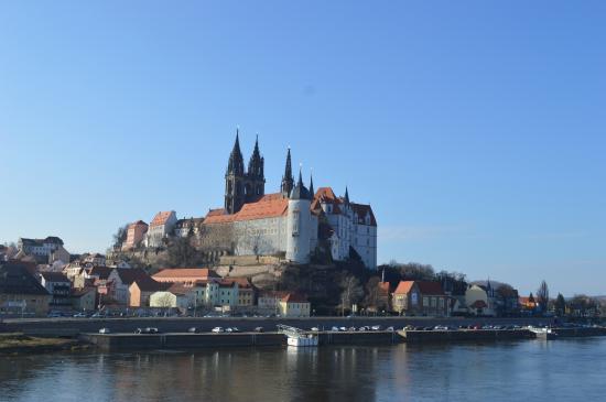Meissen, เยอรมนี: Blick auf das älteste Schloss Deutschlands