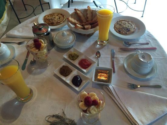 Riad Aguaviva: desayunos espectaculares