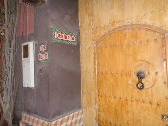 Riad Dar Nejma: voordeur