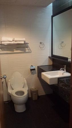 GBW Hotel: Clean Toilet