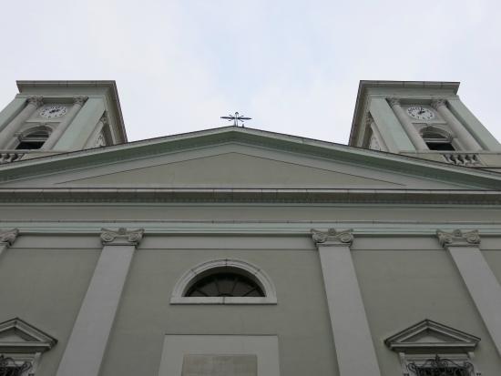 Chiesa di San Nicolò dei Greci: Topo da fachada comum da igreja
