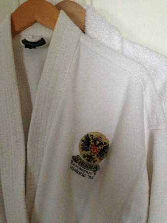 Vienna Historic Inn and Restaurant: Bathrobes too