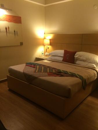 juSTa Panchsheel Park, New Delhi: My nice & cozy room at Justa Panchsheel