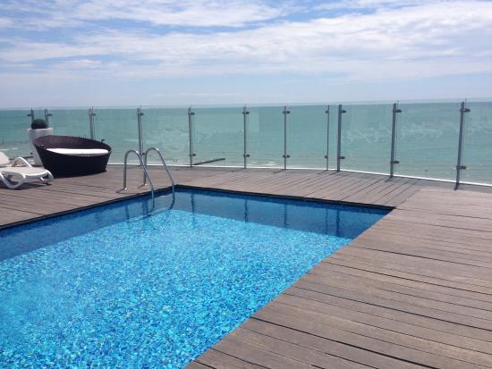 Hotel Atlantico : terrazza