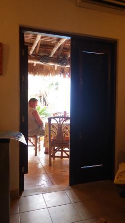 Casita de Maya: right outside our room