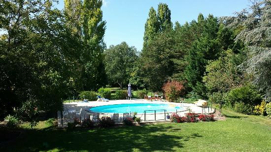 la Chancellerie, piscine