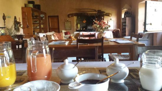 Rooderandt Hillside Lodge : Breakfast in the main house