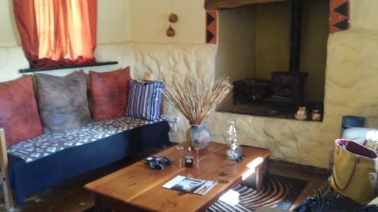 Rooderandt Hillside Lodge : The lovely living area