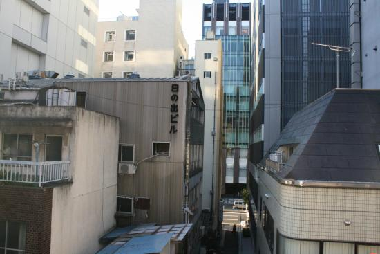 First Inn Kyobashi: balcony view