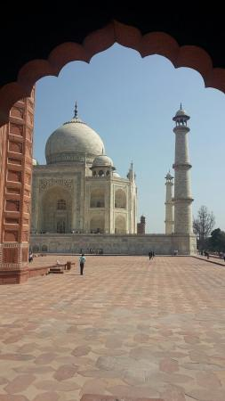 India Agra Travels - Day Tours: Best photo of Taj mahal