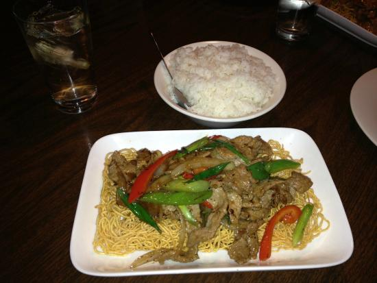 Thai crystal: Beef