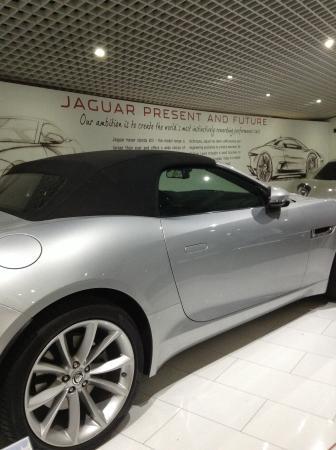 Coventry, UK: F type Jaguar