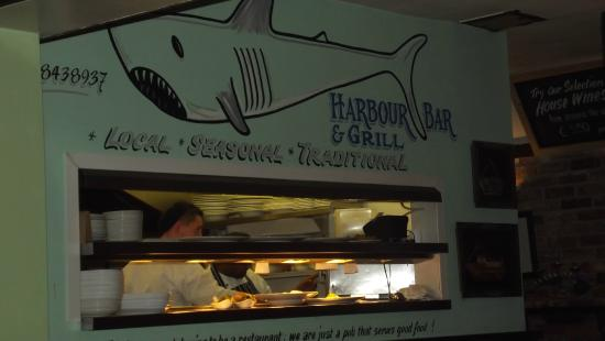 Harbour Bar: la cuisine