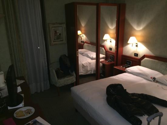 Rizzi Aquacharme Hotel & Spa : Camera con letto alla francese��