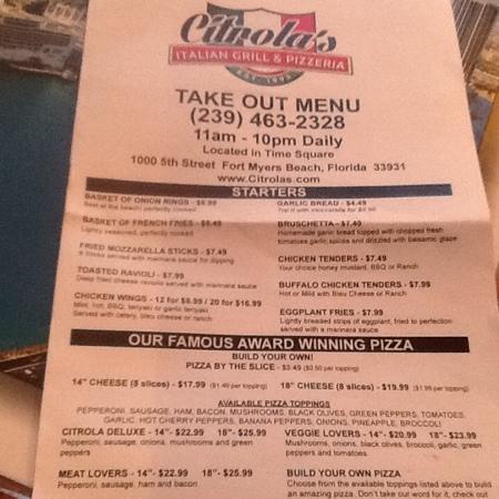 Italian Restaurant In Fort Myers Beach