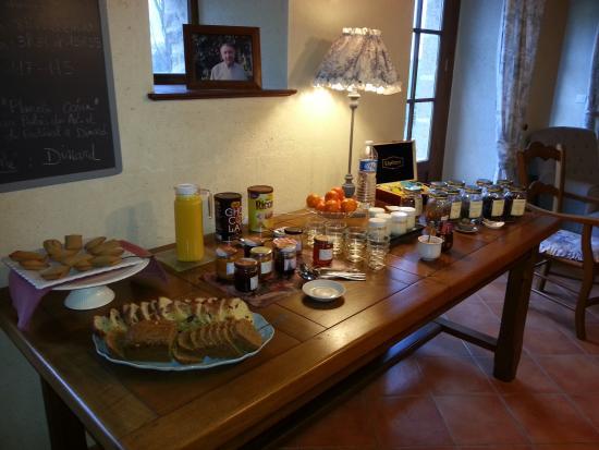 La Métairie : un petit déjeuner des plus gourmand chez Nathalie et Denis