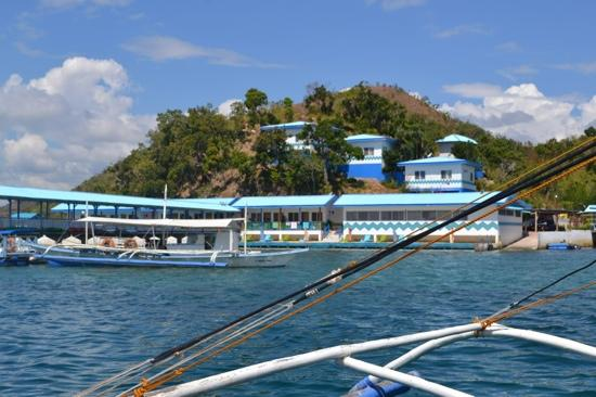 View From Boat Picture Of Coron Underwater Garden Resort Coron Tripadvisor