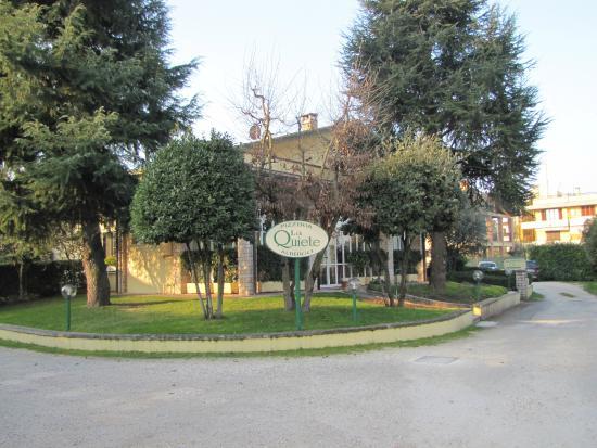 Albergo La Quiete: Vista dell' albergo