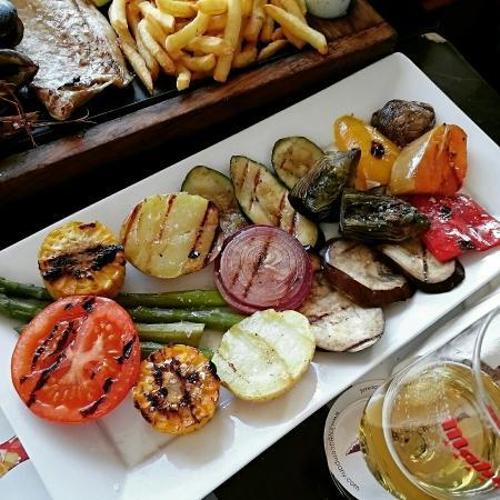 Parrillada de verduras picture of acqua javea tripadvisor for Parrillada verduras