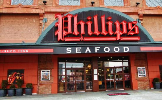 Phillips Seafood Iconic Image At Baltimore S Inner Harbor