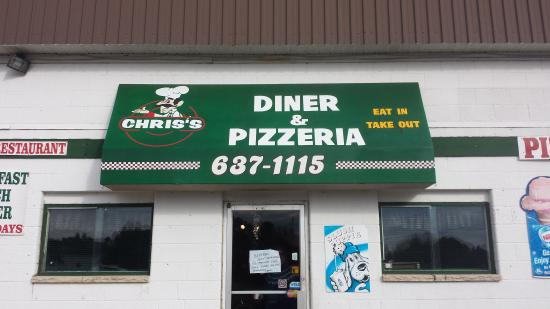 Chris ' Diner and pizzeria