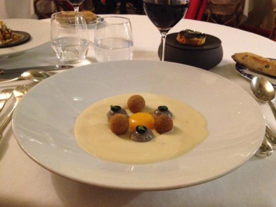 Restaurant Clair de Plume Gastronomique : sublime entrée !