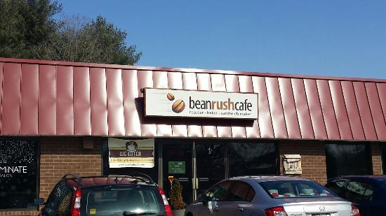 Crownsville, แมรี่แลนด์: Bean Rush Cafe
