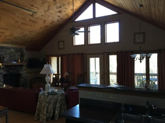 Asheville Cabins of Willow Winds: inside