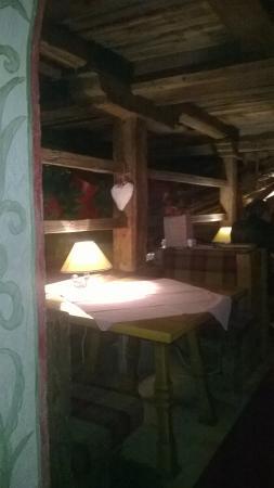 Mathiaskeller Restaurant: Saletta superiore
