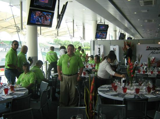 Selangor, Malaysia: Hospitality suite