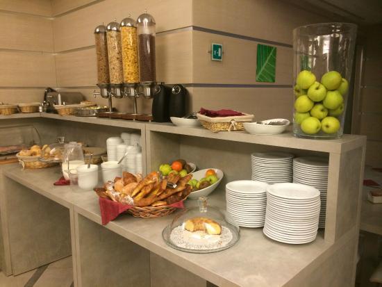 Raganelli Hotel Frühstücksbuffet