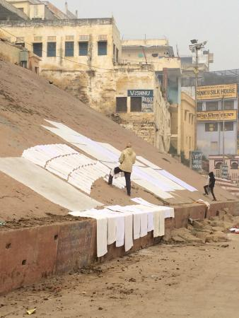 Laundry on the Ghats