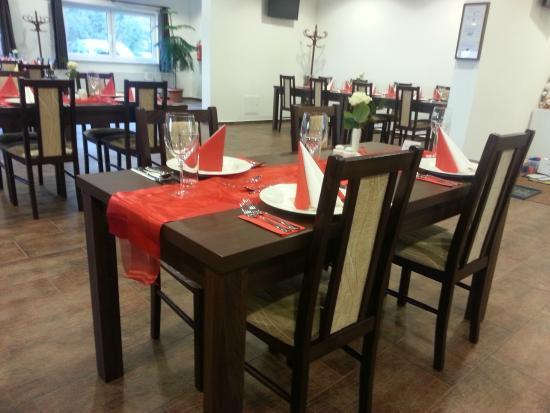 Moderne Tischdekoration Bild Von Na Farme Zehun Tripadvisor