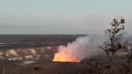 Kīlauea -- World's Most Active Volcano just down the road from Hilo Coffee mill.