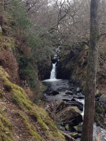Llanbedr, UK: First waterfall