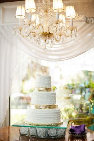 Town Manor Bed and Breakfast: The Wedding Cake prepared by Town Manor