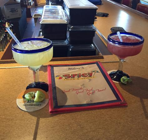 Spicy's Mexican Cantina: Yummy Margarita!