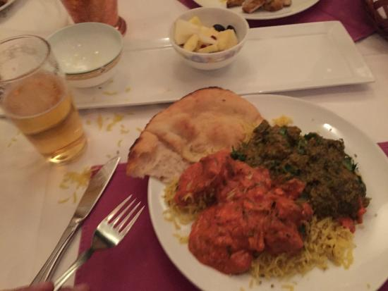 Dinner at Mother india